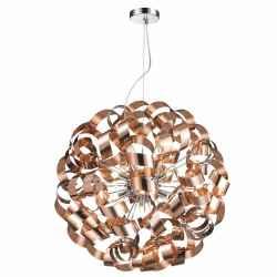 Pendente Luz 60cm Aço Bronze PE-033/12 Mais Luz Iluminação