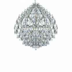 Lustre Foco Cristal Cromado 800 X 850MM 6508 800