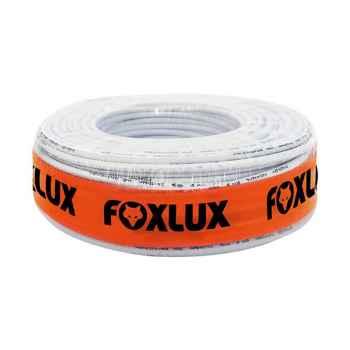 Cabo Coaxial Foxlux RG 59 95% rolo com 100 mt