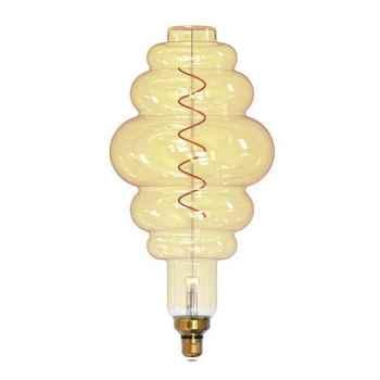 Lampada de Filamento Led Giant Colmeia Amber Bivolt Taschibra