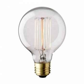 Lampada Taschibra Filamento Carbono G80 40W 127V
