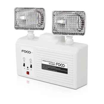 Luminária Foco Emergência Bloco Autônomo LED 960 L