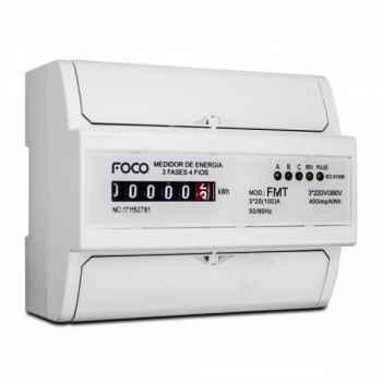 Medidor de Consumo Foco Trifásico 220V 100A