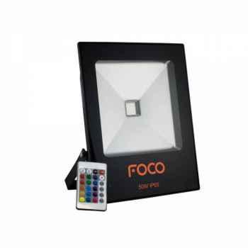 Refletor Led Foco 50W RGB Bivolt