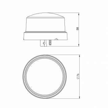 Rele Fotocélula Intral Bivolt RSL1000 105/305V