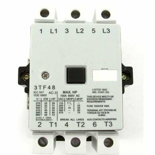 Contator 3 TF 50 160A 16A 5CV