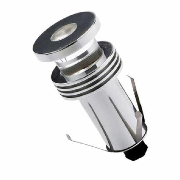 Mini Poste LED De Embutir No Solo 1W 2700K Ecrom