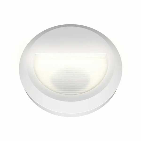 Balizador Alumínio Circle LED 12W Bivolt 3000k Germany