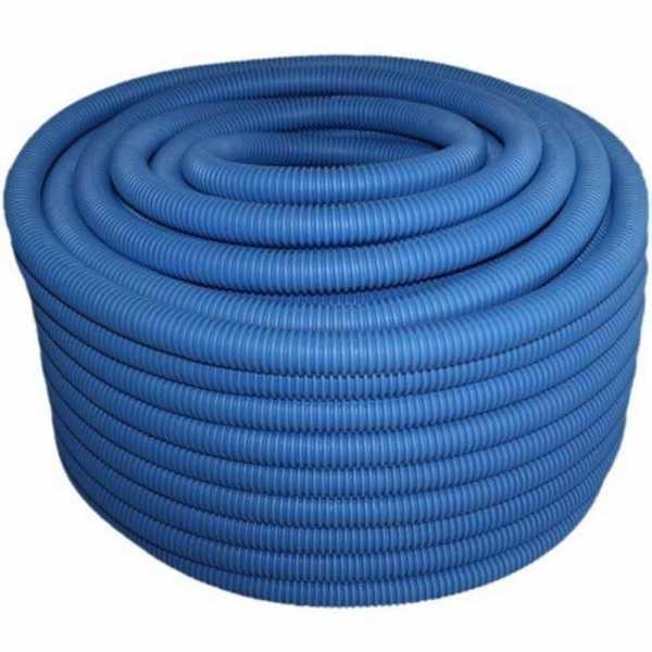 Mangueira Corrugada Tigre 3/4 25MM Azul
