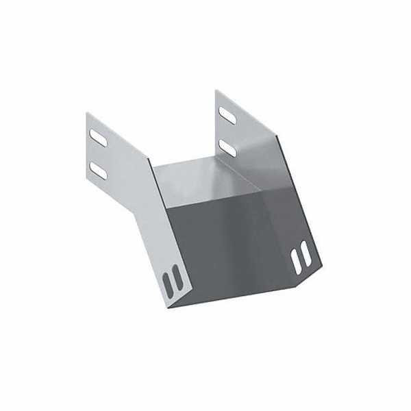 Acessório para Eletrocalha 50 X 50 Curva Vertical Externa 45°