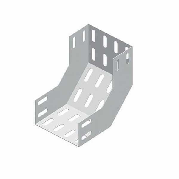 Acessório para Eletrocalha 50 X 50 Curva Vertical Interna 90º