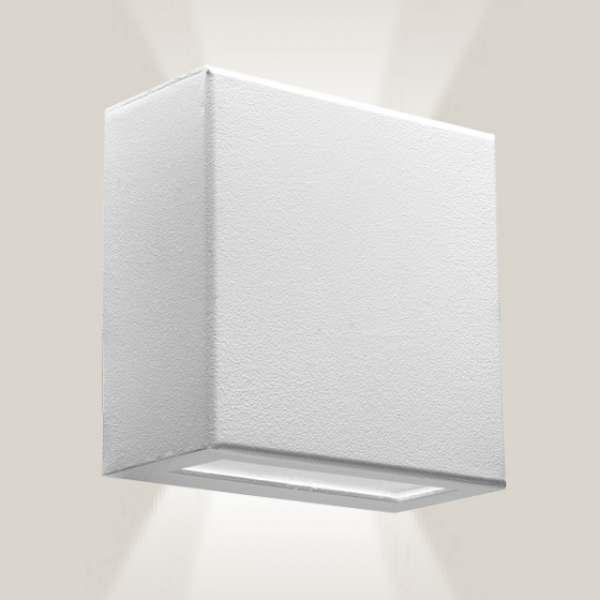Arandela Incolustre Effet 05 Int/Ext Branco 2 Fachos 50050