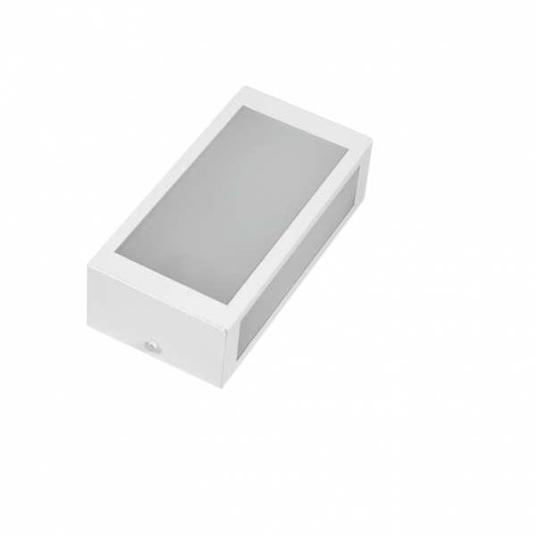 Arandela Incolustre Mini 02A Branco Alumínio