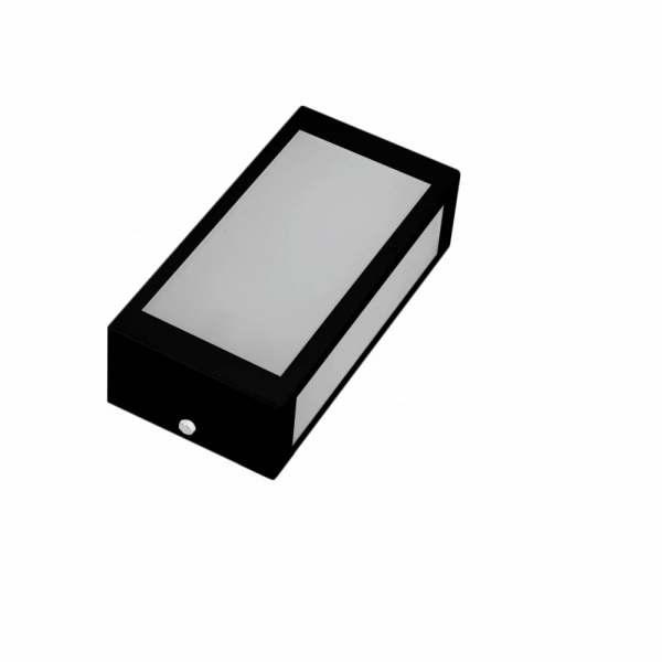Arandela Incolustre Mini 02A Preto Alumínio 55247