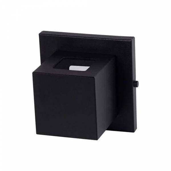 Arandela Real Lustre Box 2 Focos Preto 30722
