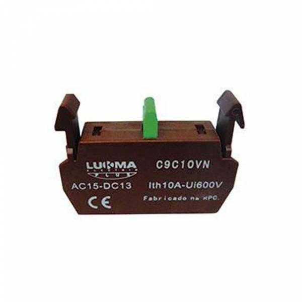 Bloco Lukma para Botão LK6-1NA C9C10VN