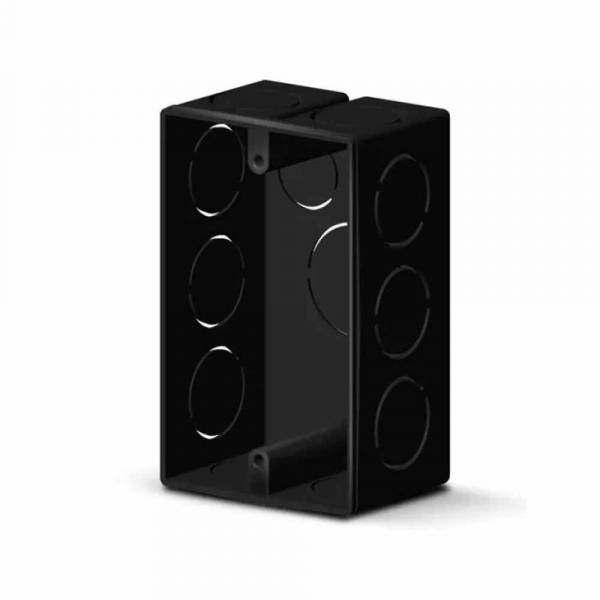Caixa Alumbra 4 X 2 Preto Pvc  8805