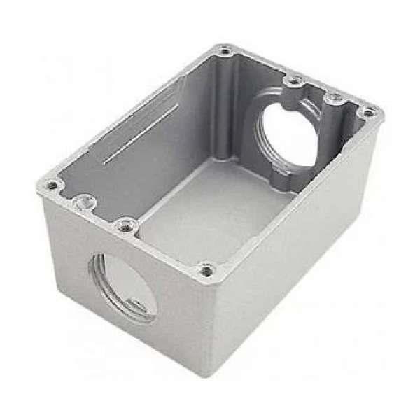 Caixa de Alumínio para Piso 4X2 Baixa 1