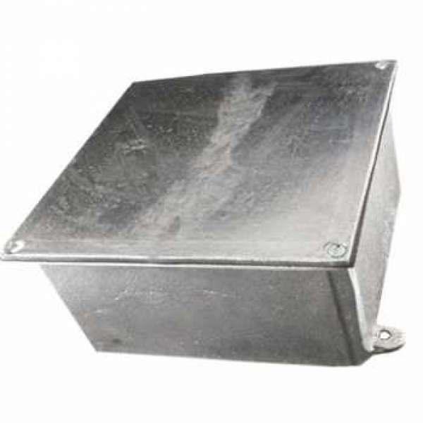 Caixa de Passagem Alumínio 20 X 20 X 10