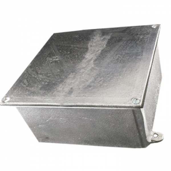 Caixa de Passagem Alumínio 40 X 40 X 20