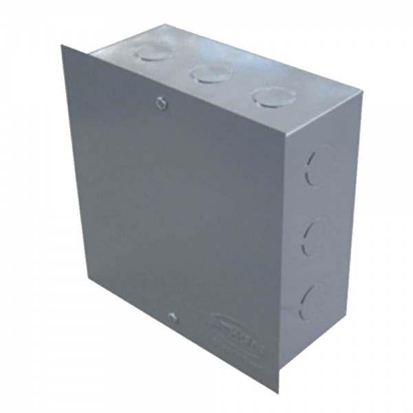 Caixa de Passagem Embutir metálica 15 X 15 X 08CM
