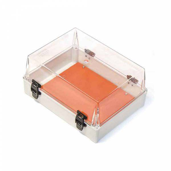 Caixa Pvc Schuh 35X26X17 Transparente com Dobra  21.15.06