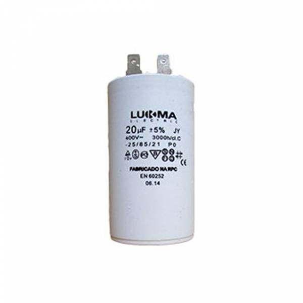 Capacitor Permanente Lukma 20UF 400V 50001