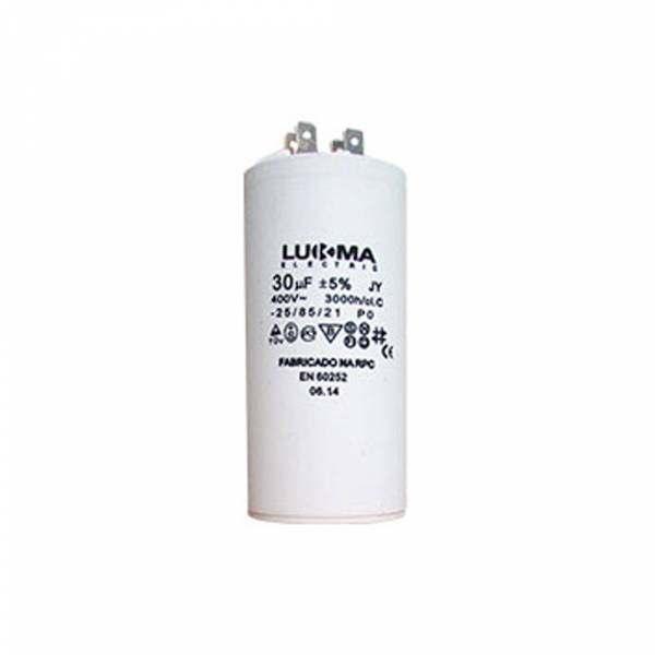 Capacitor Permanente Lukma 30UF 400V 50003
