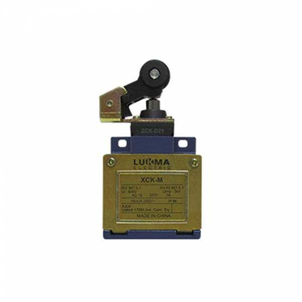 Chave Fim de Curso Lukma com Roldana Lateral XCK-M121