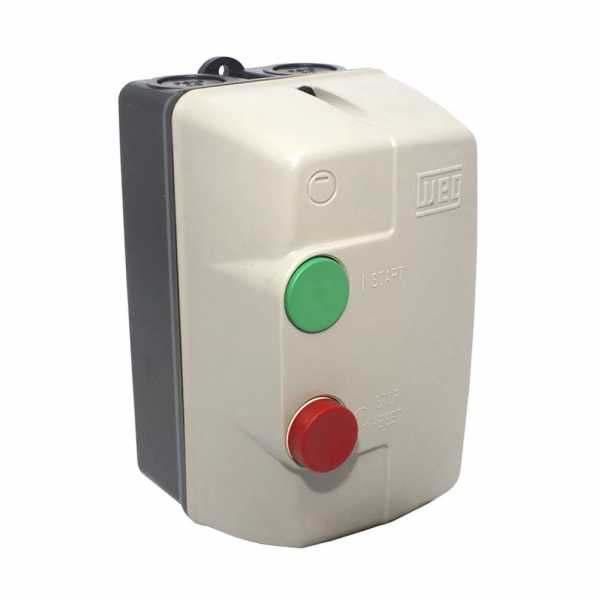 Chave Magnética de Partida Weg 4CV 10/15A   10045778