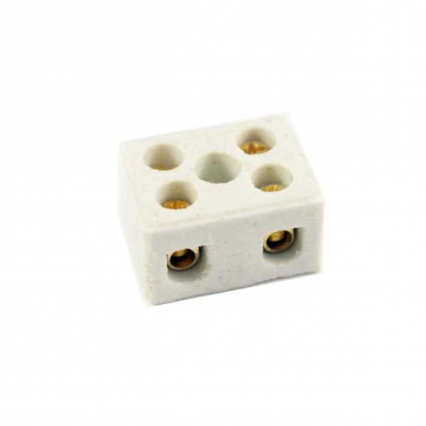 Conector Sindal Porcelana Duplo 16mm