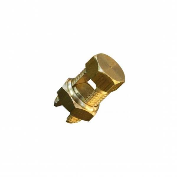 Conector Split Bolt Dourado   16MM
