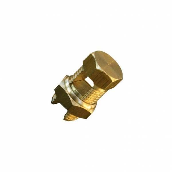 Conector Split Bolt Dourado   25MM