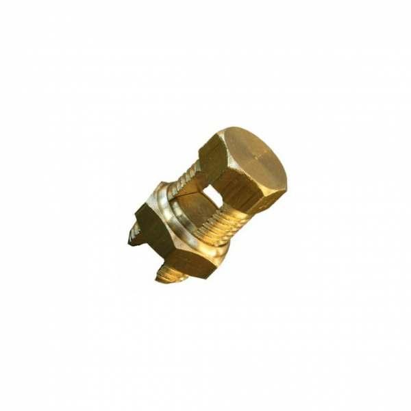 Conector Split Bolt Dourado   50MM