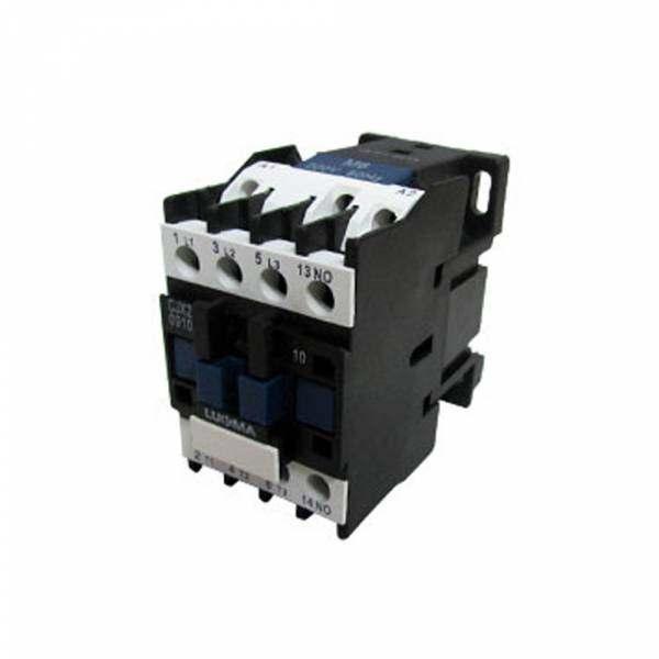 Contator Lukma CJX2 220V 12A LC1D-1210 01002