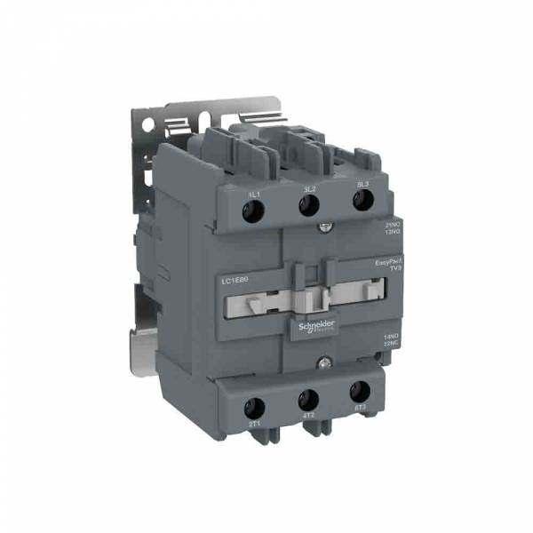 Contator Schneider Tesys 80A 1NA 220V LC1E80M7