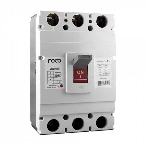Disjuntor Foco Caixa Moldada 3X400A 40KA  F400