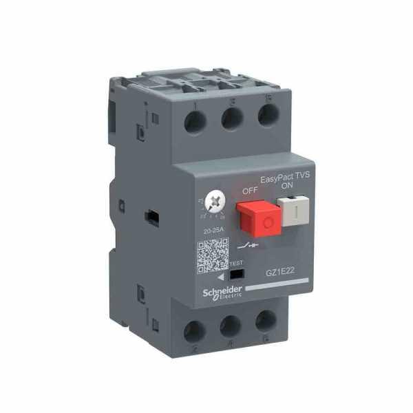 Disjuntor Schneider Motor Termomagnético GZ1E08 2,5-4A