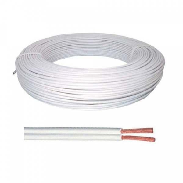 Fio Cordão Paralelo Branco 2 X 2,50 MM2 (P/metro)