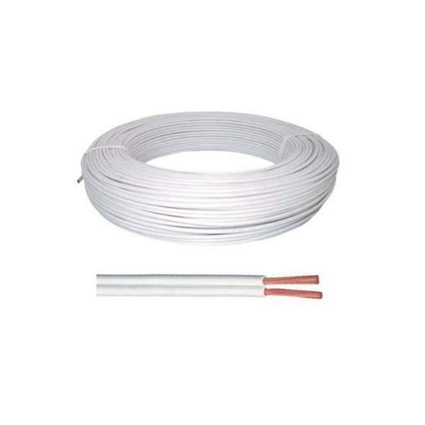 Fio Cordão Paralelo Branco 2 X 2,50 MM2 C/100 mt