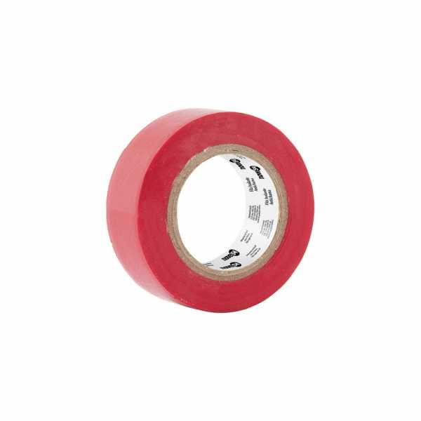 Fita Isolante Color 05m Vermelha