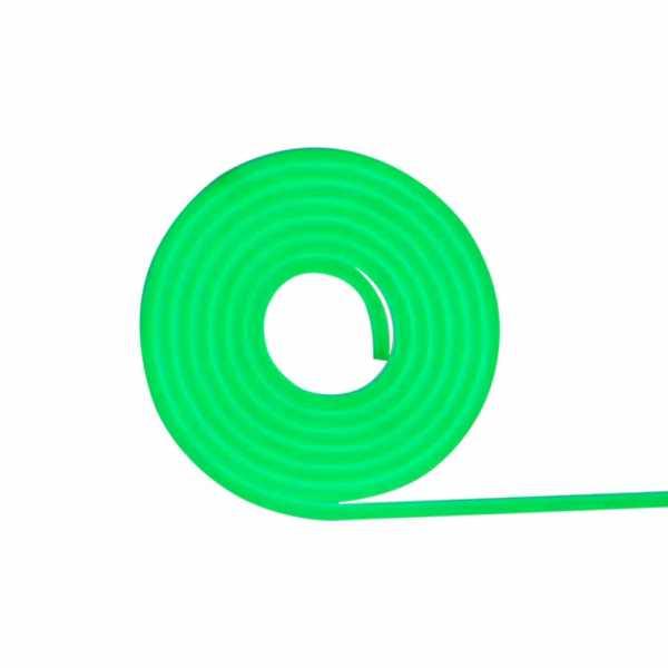 Fita Neon FOCO IP65 silicone 12V 10W 1M verde