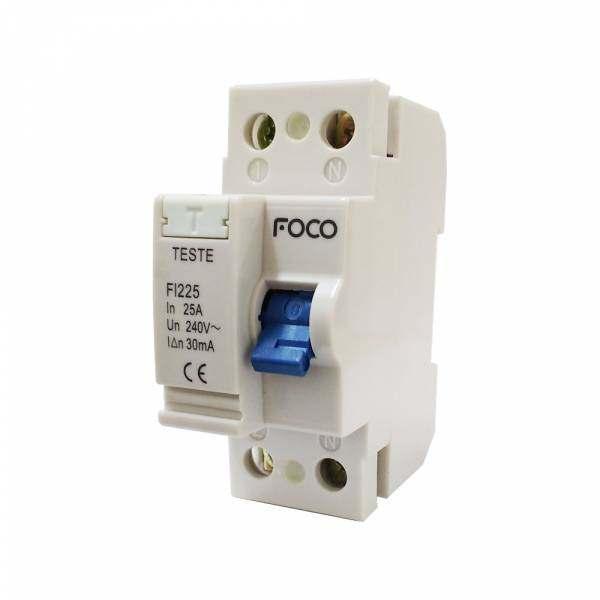 Interruptor Diferencial DR Foco 2X100 30MA