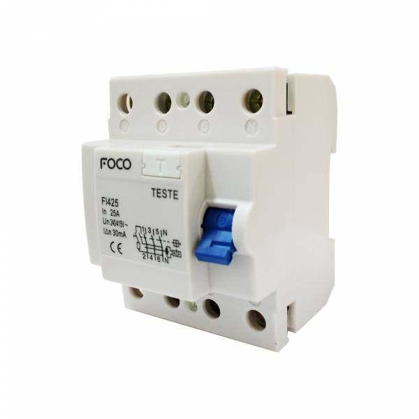 Interruptor Diferencial DR Foco 4X25 30MA