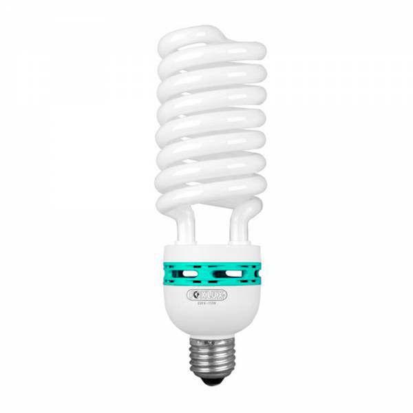 Lampada Eletrônica Espiral 110W 220V E27 6400K Foxlux