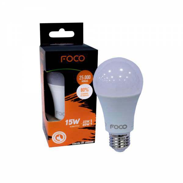 Lampada Foco Led Bulbo 15W 6500K  1250 Lumens Bivolt