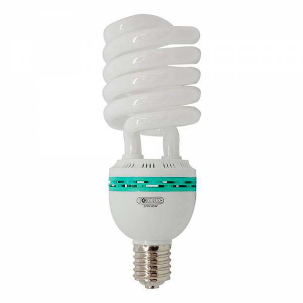 Lampada Foxlux Eletrônica Espiral 85W 220V E40 6400K