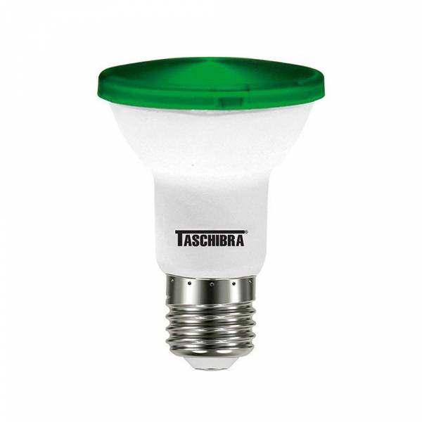 Lampada Led PAR20 6W Verde Bivolt Taschibra