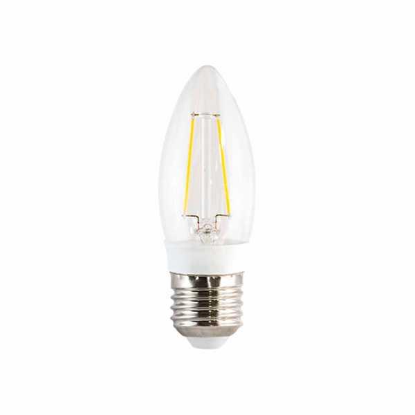 Lampada Ourolux Led Vela Filamento E14 3W 2700K 3301 Bivolt