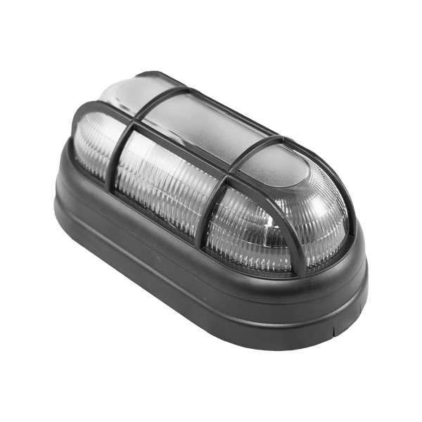 Luminária Foco Tartaruga Preto PVC